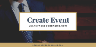 How to create or edit Events on my Facebook Page