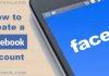Facebook Account Sign Up and Login – How to Create Account on Facebook