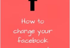 How to change your facebook password | How to reset facebook password