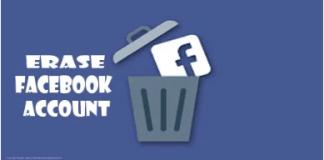 Erase Facebook Account – How to Delete Facebook Account