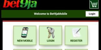 BET9JA Old Mobile