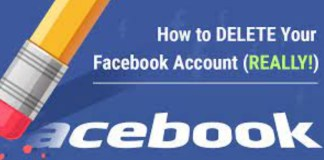 How to Temporarily and Permanently Delete your Facebook Account
