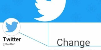 Twitter Change Profile and Background