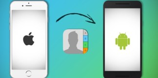 How to move contacts from Android phone to iPhone
