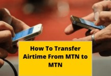 How to Transfer Airtime from other network to MTN