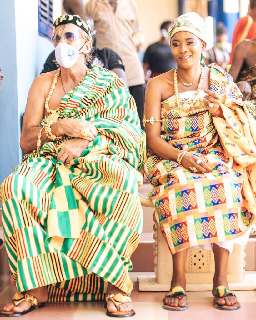 The richest woman in Ghana Joana Gyan Enstooled as queen mother in Agona (photos + video) 2