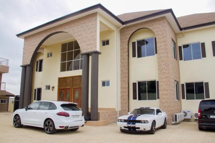 Image result for asamoah gyan house