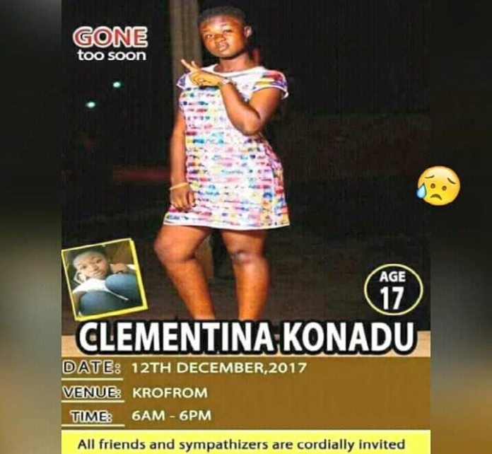 Female KUMACA student dead