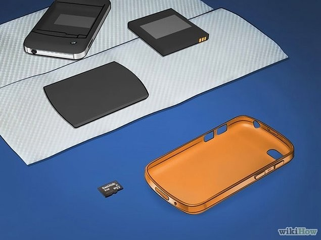 4. Telefonunuza ne takılıysa her şeyi çıkarın.