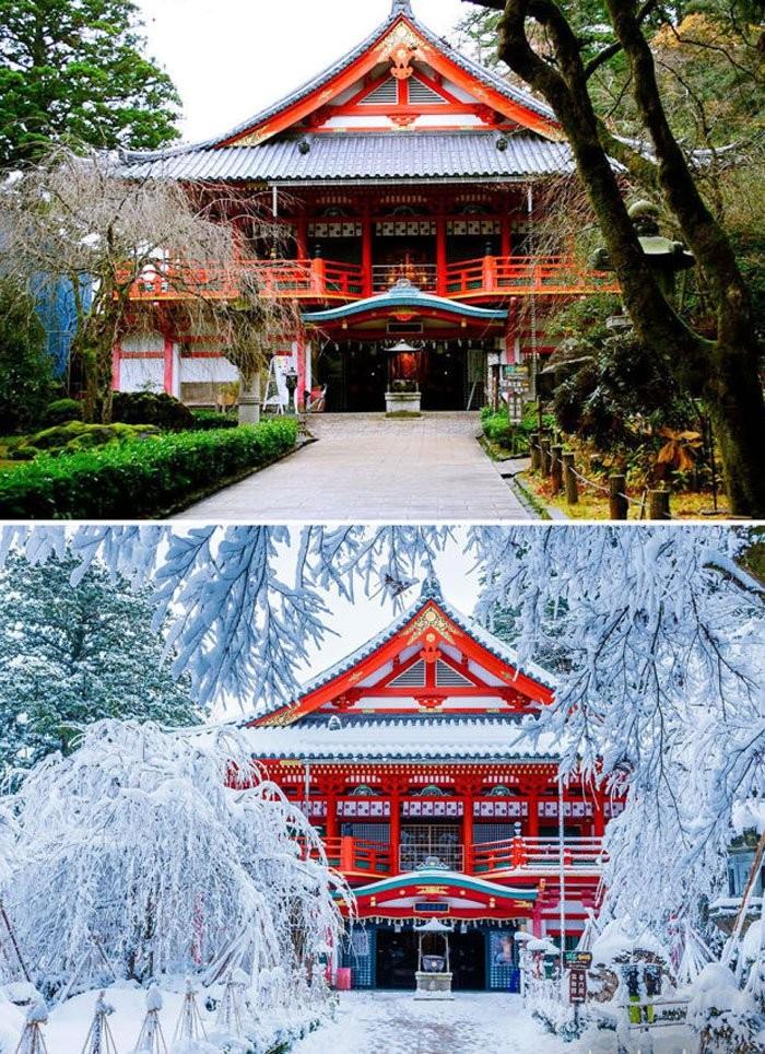 Natadera Temple, Komatsu, Japonya
