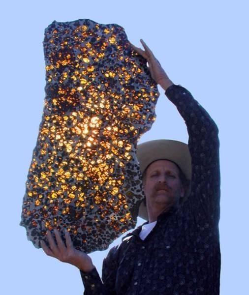 4.5 Milyon Yıllık Olduğu Düşünülen Fukang Meteorite (Fukang Göktaşı)