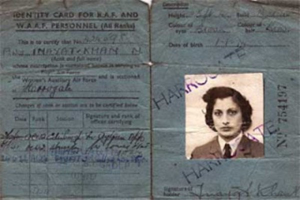 Noor Inayat Khan Ajan Kimlik