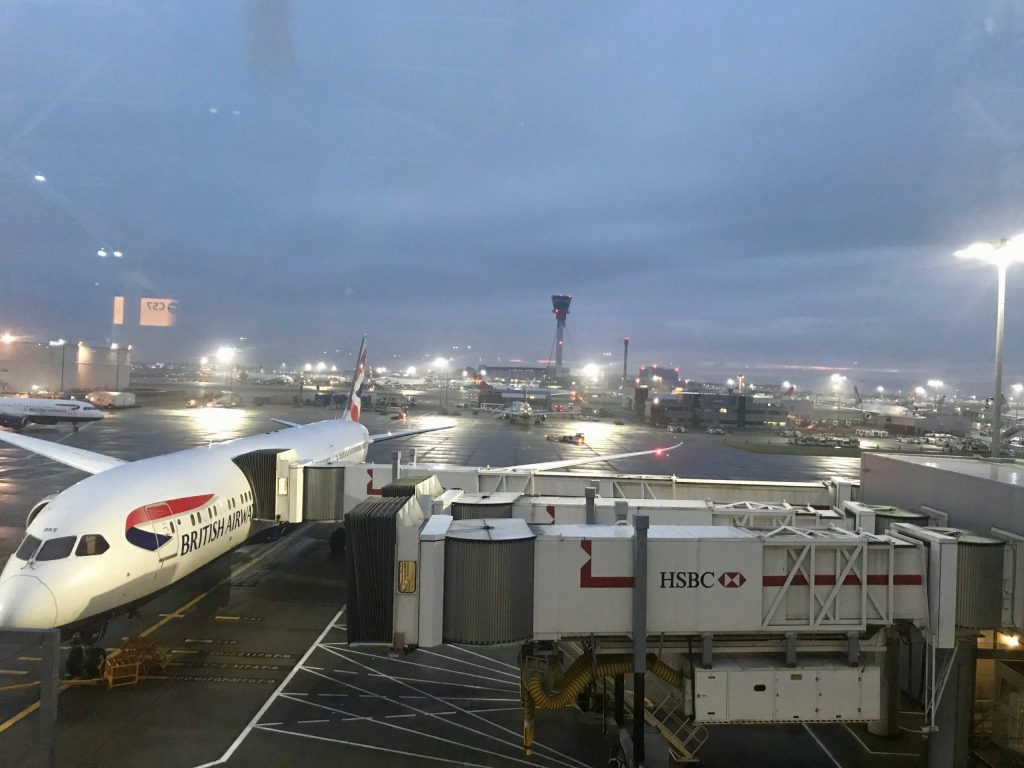 British Airways Premium Economy Chicago To London London To Zagreb