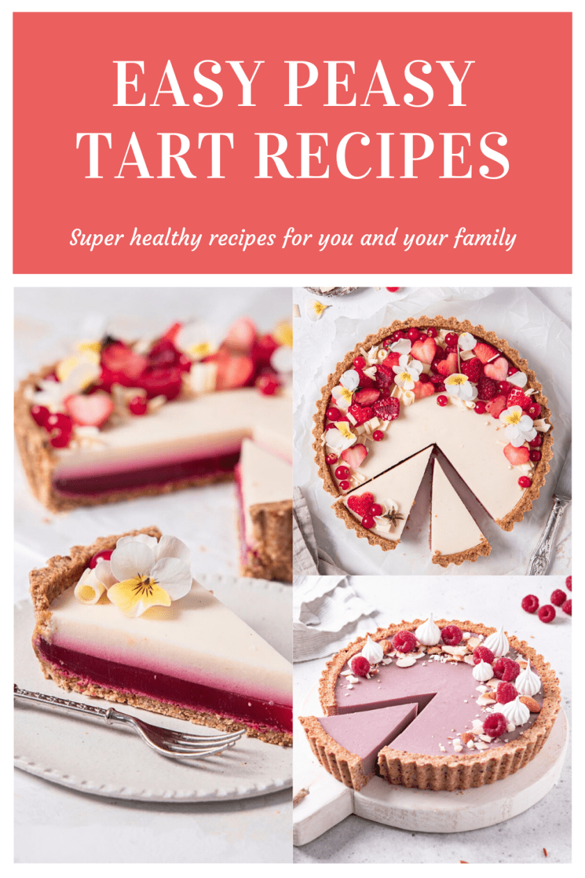 Explore this collection of 30 delicious and healthy tarts that come in all sizes and flavors. #glutenfree #best #filling #healthy #glutenfreetart #healthytart #vegantartrecipe