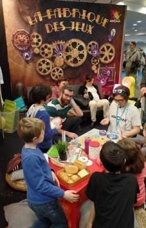 La Fabrique des jeux au coin des enfants (Créditphoto : Elsa Hellemans)