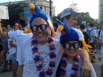 Les supporters ont A partir de 18h, tous les supporters ont convergé vers le stade Vélodrome (Crédit : E.H.)leur plus beau costume (Crédit : E.H.)