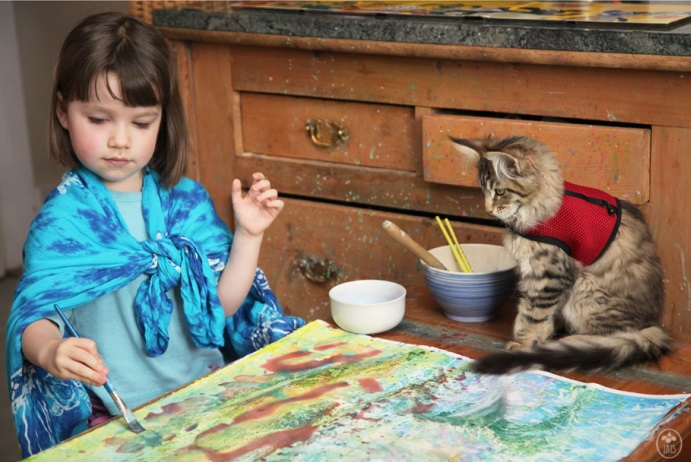 iris-and-thula-painting-together