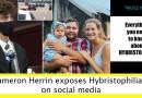 Cameron Herrin exposes Hybristophiliacs on social media: HYBRISTOPHILIA other cases