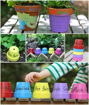 Colorful Pots For Plants   New House Designs 5 Diy Gift Ideas For Gardeners Inner Child Fun