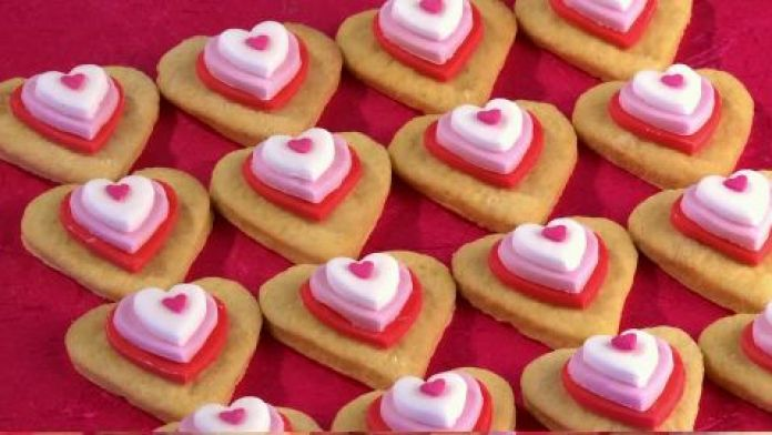 Valentine cookie