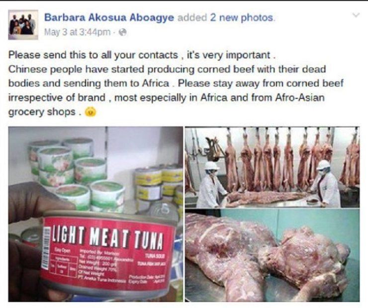 canned human flesh