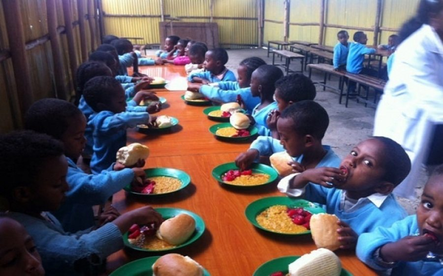 Image result for picture of school feeding program
