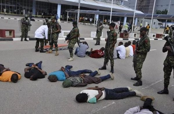 NAF Prepares To Counter Terrorists At Airports, Device Plans