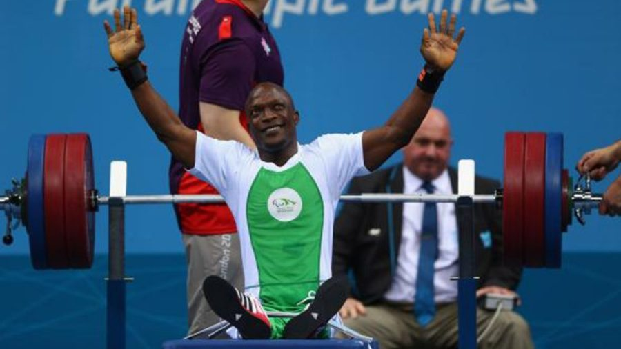 Image result for Nigeria wins first gold medal 2016 paralympics