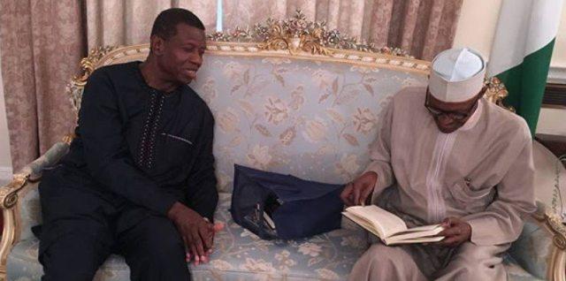 Adeboye Visits Buhari