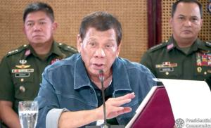 Philippine President Rodrigo Duterte Threatens To Shoot Lockdown Violators