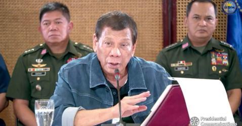 Philippine President Rodrigo Duterte Threatens To Shoot Lockdown Violators