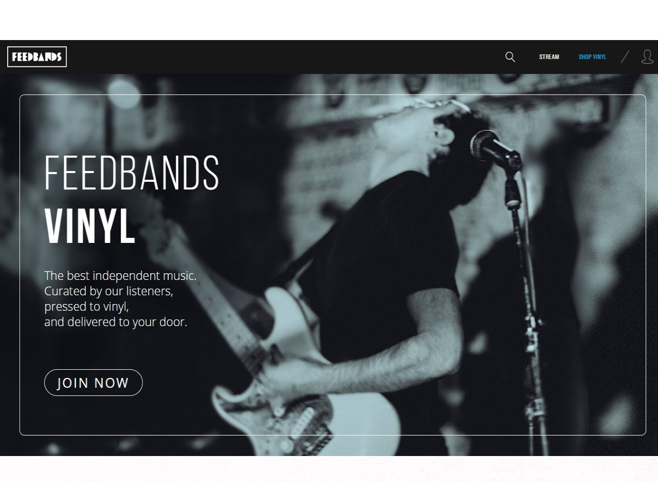 Feedbands - We feature independent music daily Top liked artists get pressed to vinyl