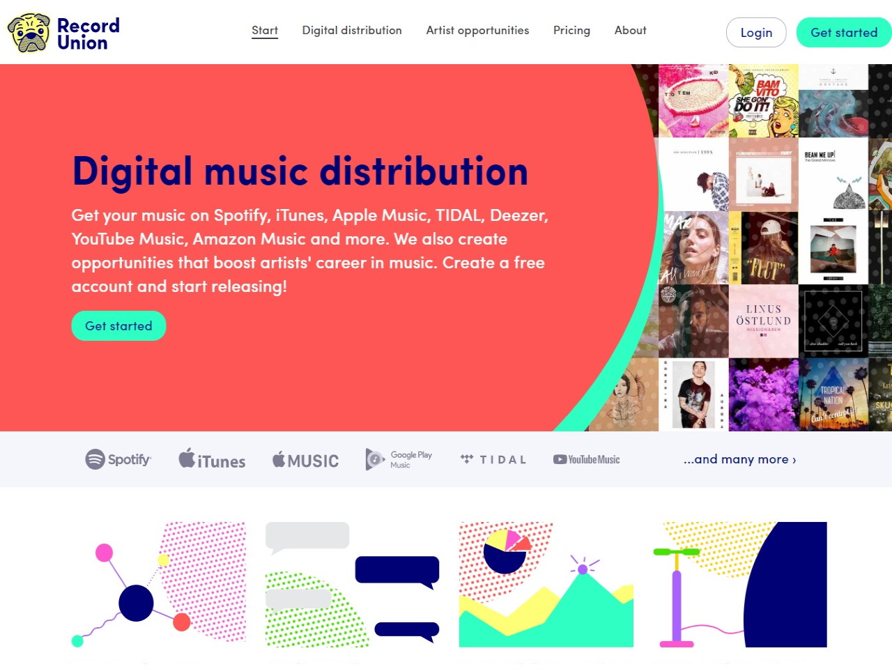 Digital distribution artist opportunities - Sell your music online with Record Union