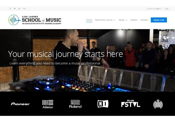 Lisa Lashes School of Music Get the skills to start out in the music industry
