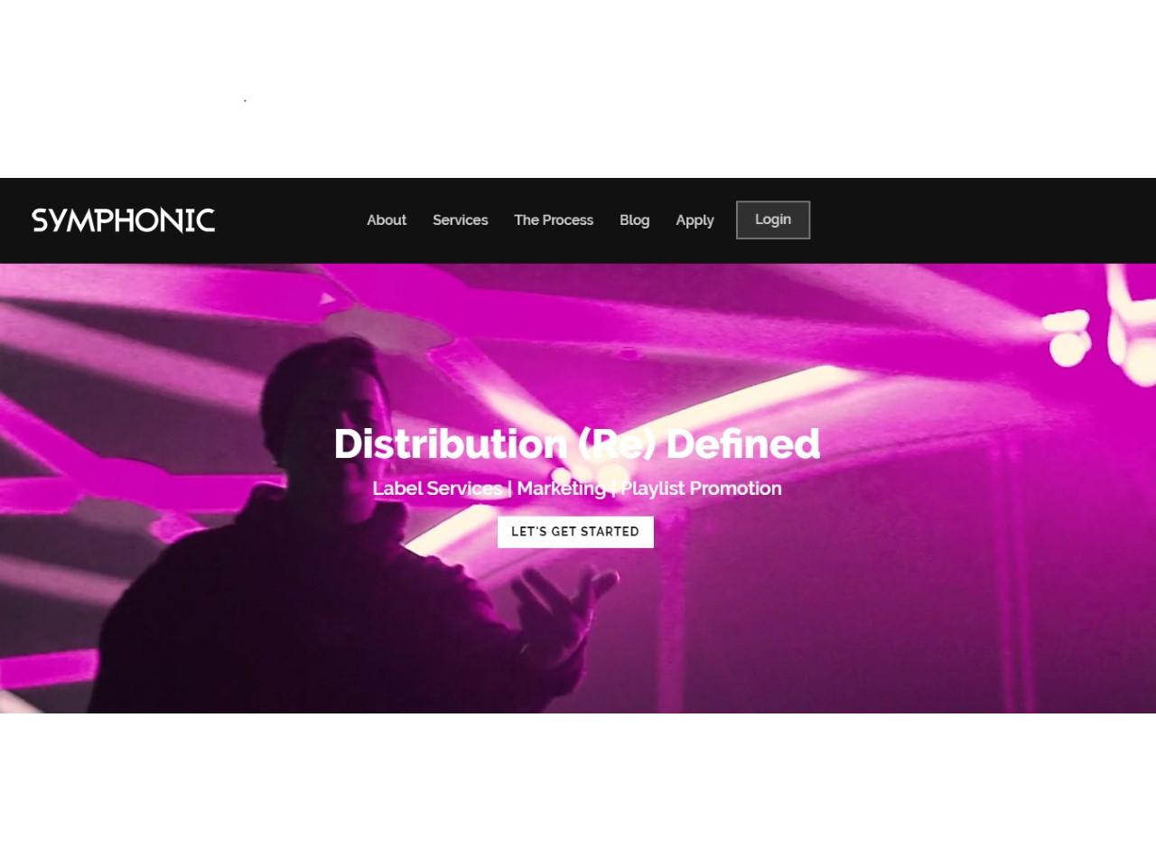 Music Distribution Symphonic Distribution