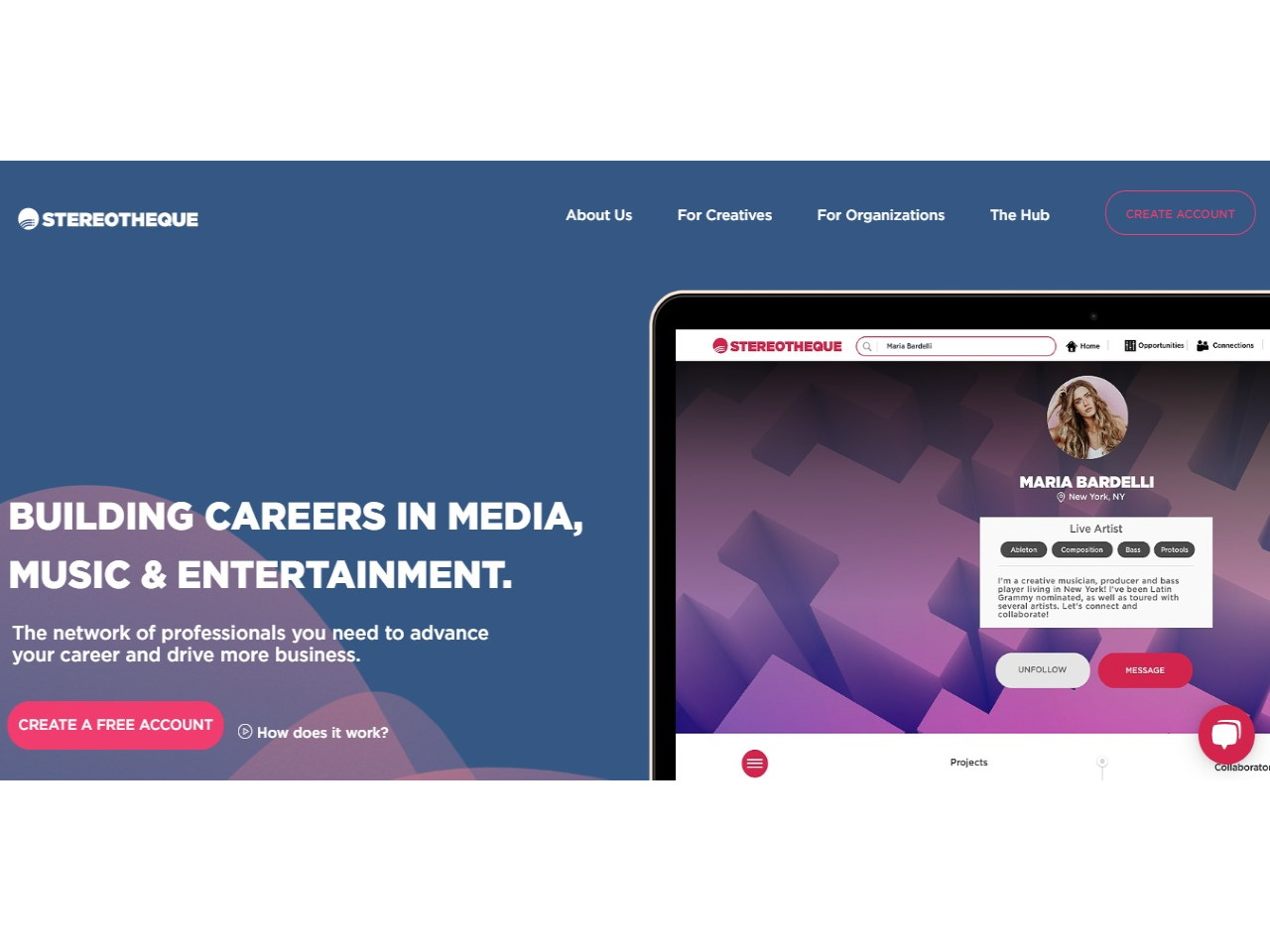 Stereotheque - The professional network for Music and Entertainment