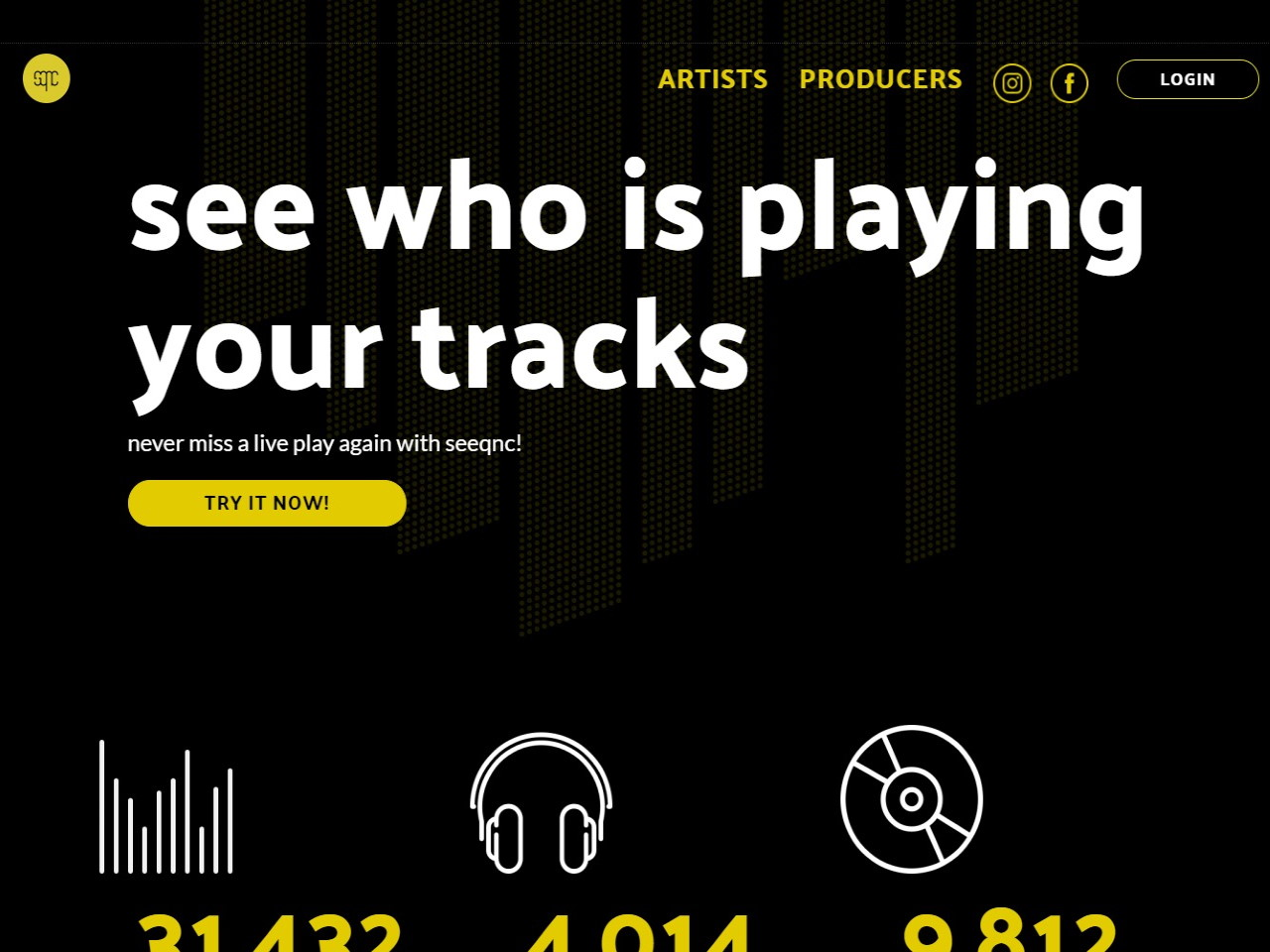 seeqnc - see who is playing your tracks