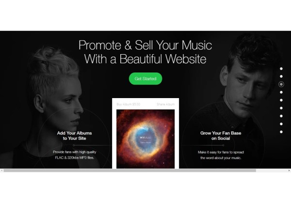 Create a Music Website Band and Musician Websites Wix com