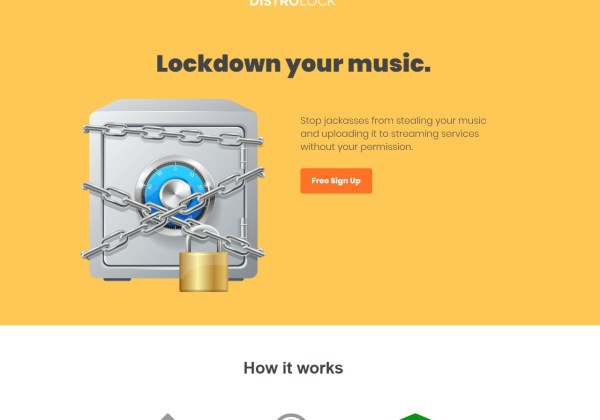 DistroLock - Protect your music from unauthorized distribution and leaks