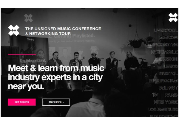 Ditto X Unsigned Music Conference