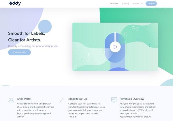 Eddy - Music Royalty Software