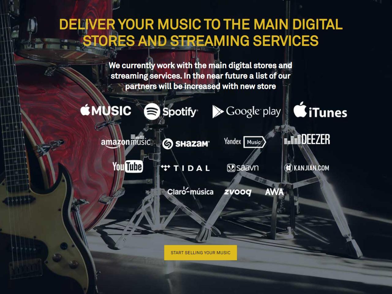 Freshtunes music distribution