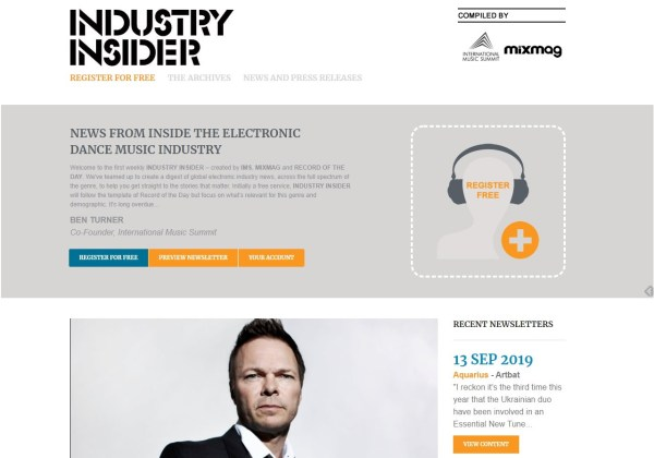 IMS Mixmag Industry Insider