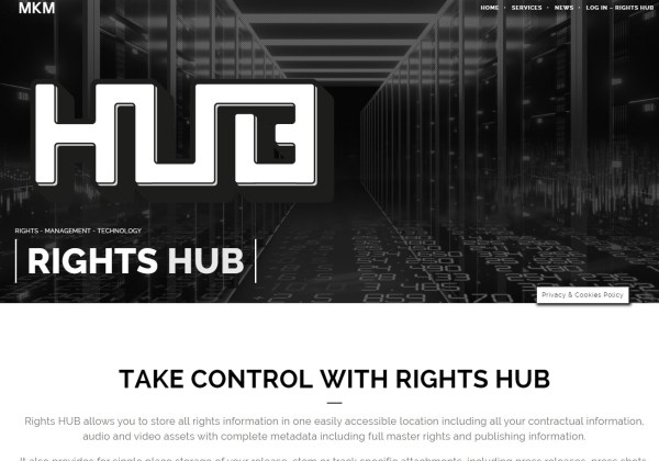 Rights HUB Monokrome Music Music Industry Services