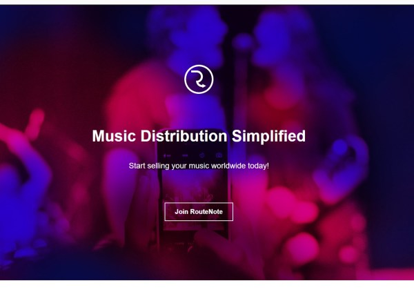 RouteNote RouteNote Sell Your Music Online - Digital Music Distribution - Promotion - Publishing