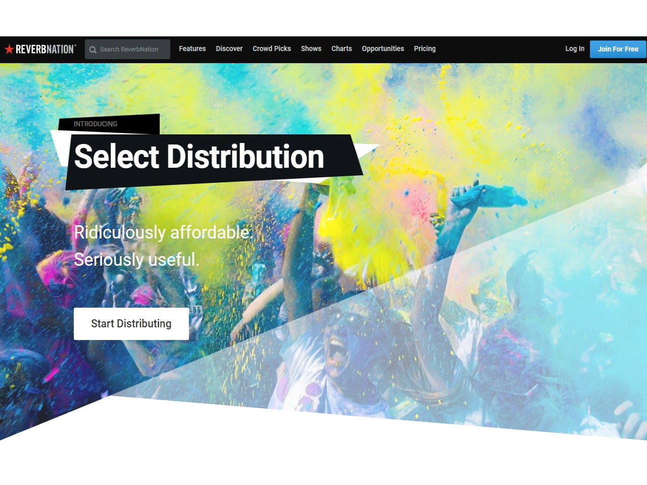 Select Distribution - Sell Music Online ReverbNation