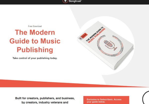 Songtrust s Modern Guide to Music Publishing