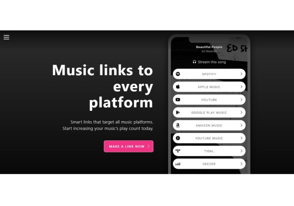 Songwhip Music links to every platform Free