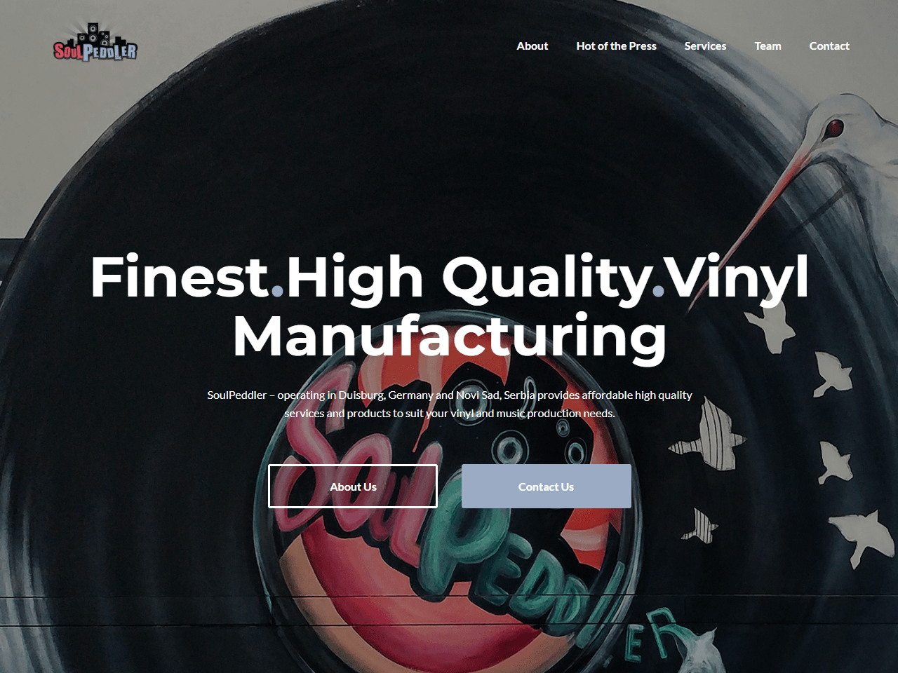 soulpeddler german and serbian vinyl manufacturing