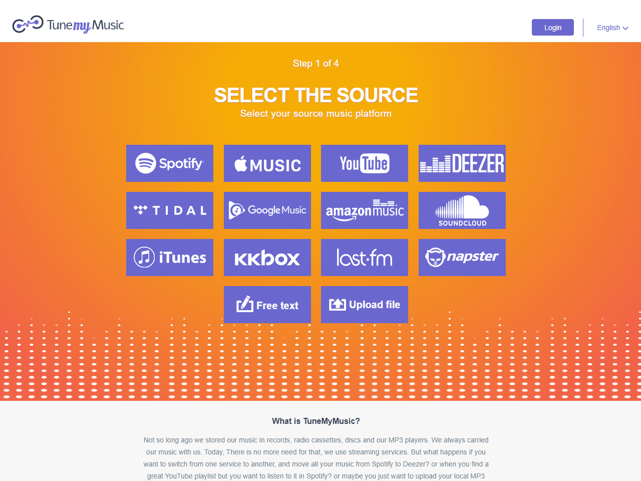 Transfer Playlists Between Music Services 100 free Tune My Music